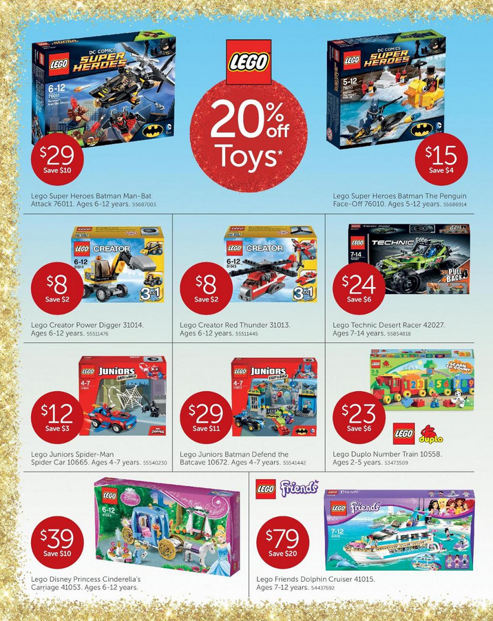 Australian LEGO Sales December 2014 – Christmas Edition