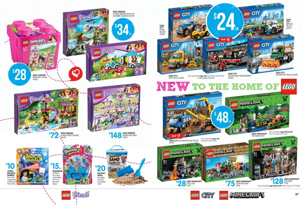Big W LEGO Sale January 2015