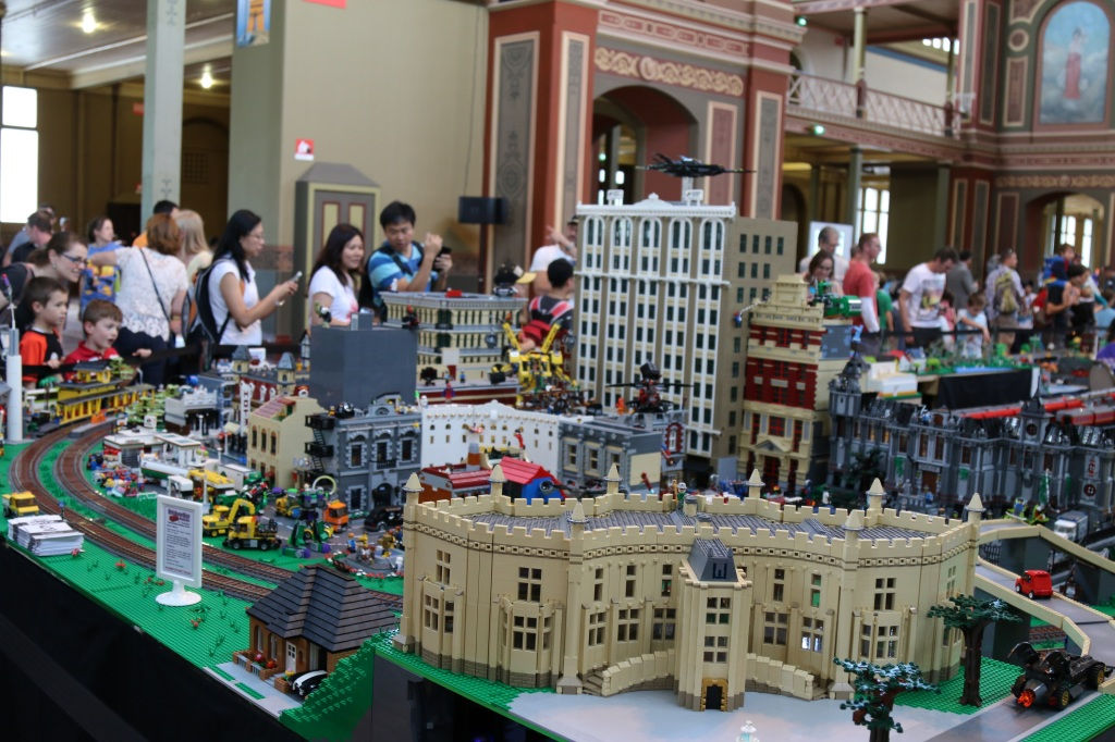Brickvention 2015 - Big LEGO City