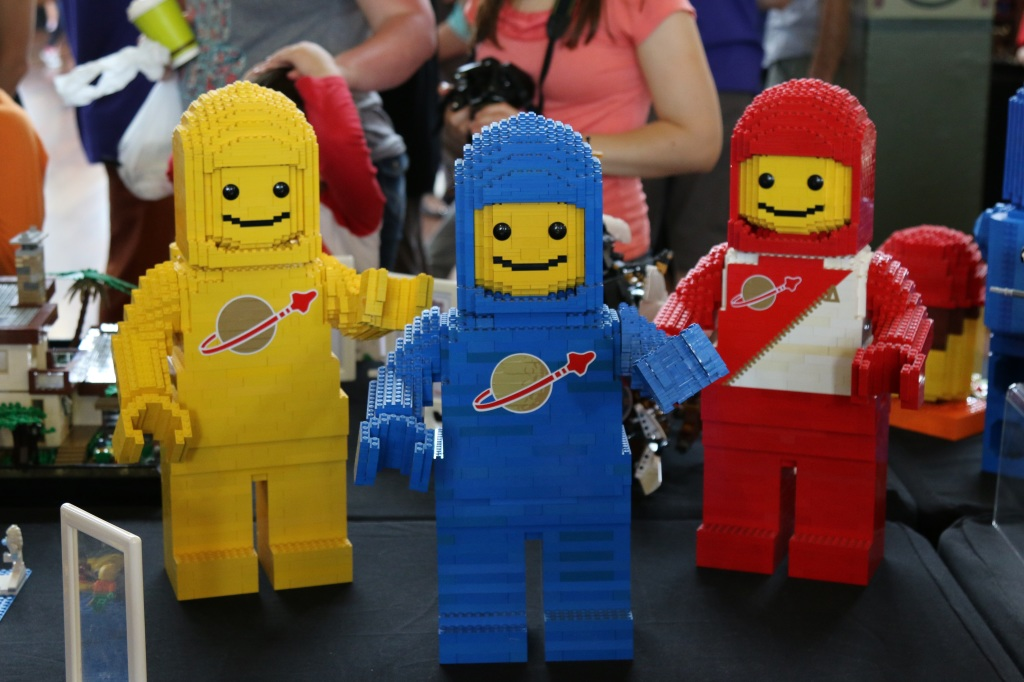 Brickvention 2015 - Classic Space Men