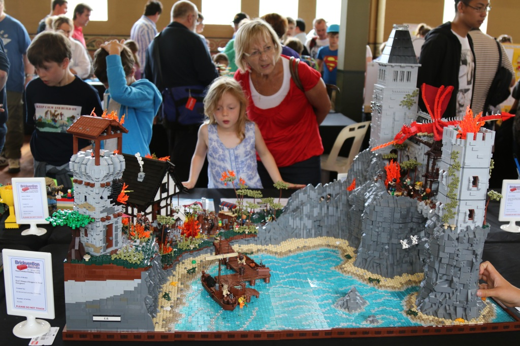 Brickvention 2015 - Don't Keep A Dragon In Your Dungeon