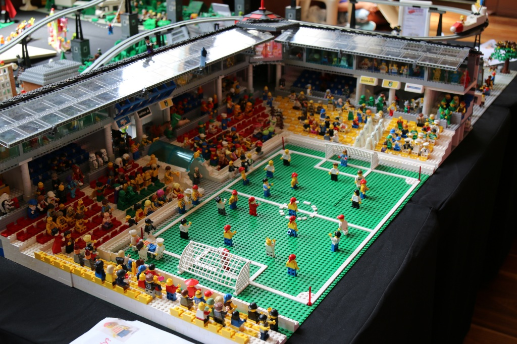 Brickvention 2015 - Football Stadium