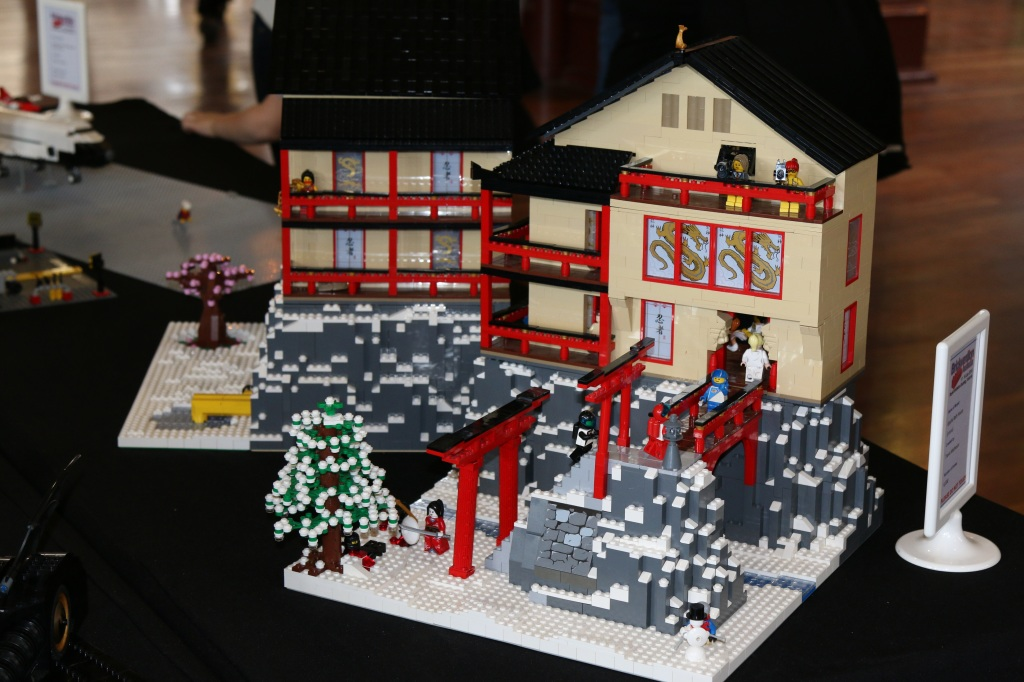 Brickvention 2015 - Geisha Bath House