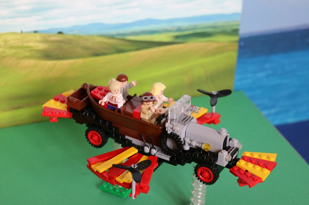 Brickvention 2015 - LEGO Chitty Chitty Bang Bang