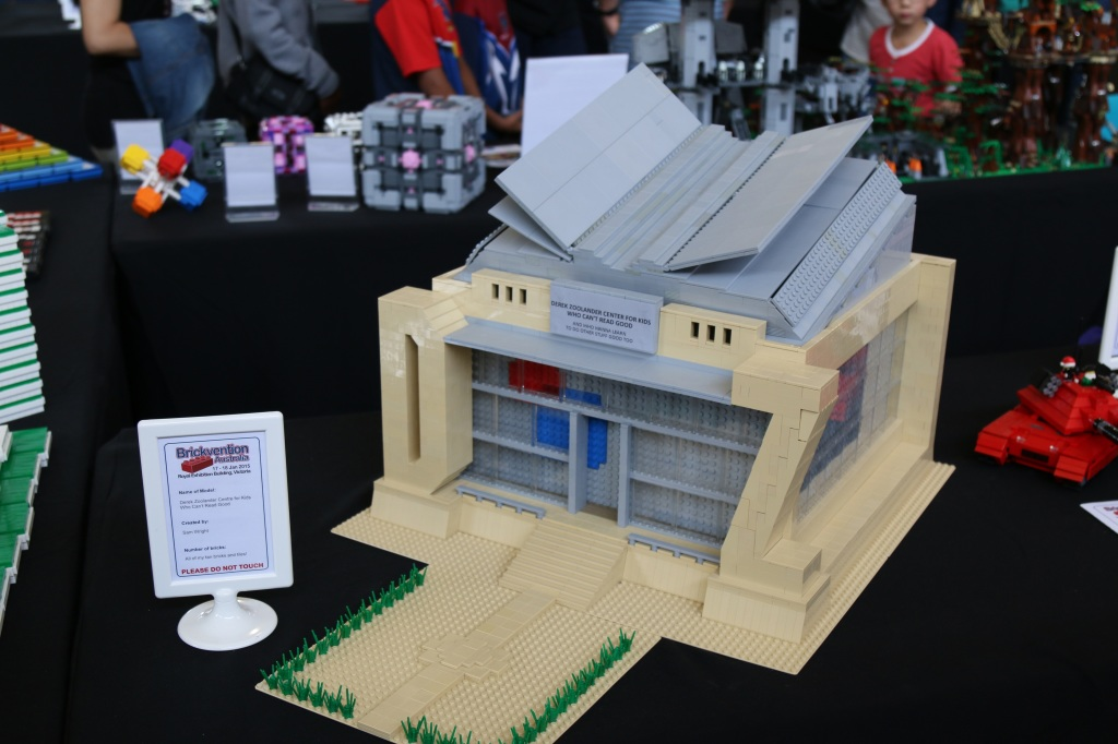 Brickvention 2015 - LEGO Derek Zoolander Centre