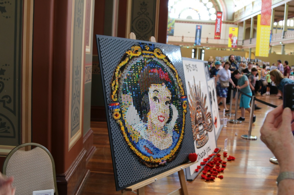 Brickvention 2015 - LEGO Snow White Mosaic