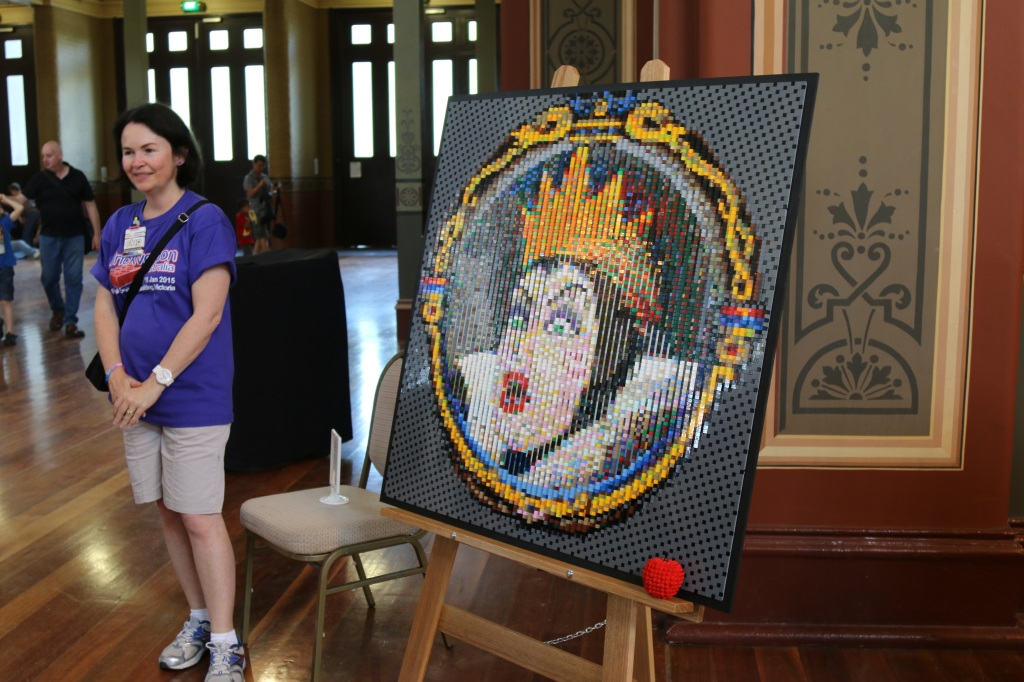 Brickvention 2015 - LEGO Snow White Queen