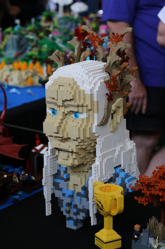 Brickvention 2015 - LEGO Thranduil Bust