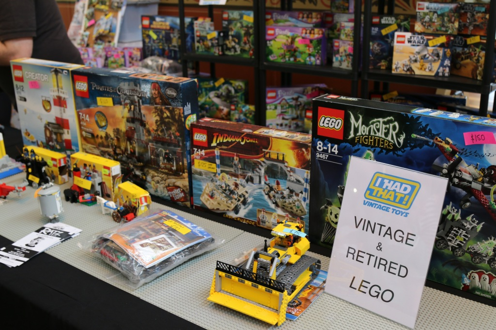 Brickvention 2015 - LEGO Vintage Sets For Sale