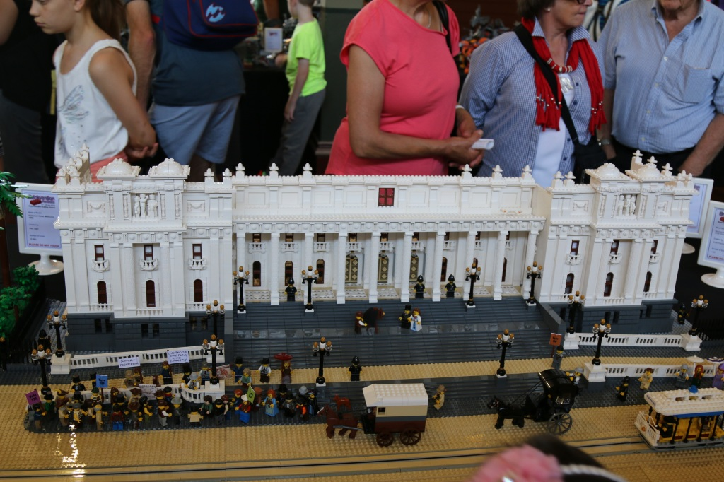 Brickvention 2015 - Melbourne Town Hall