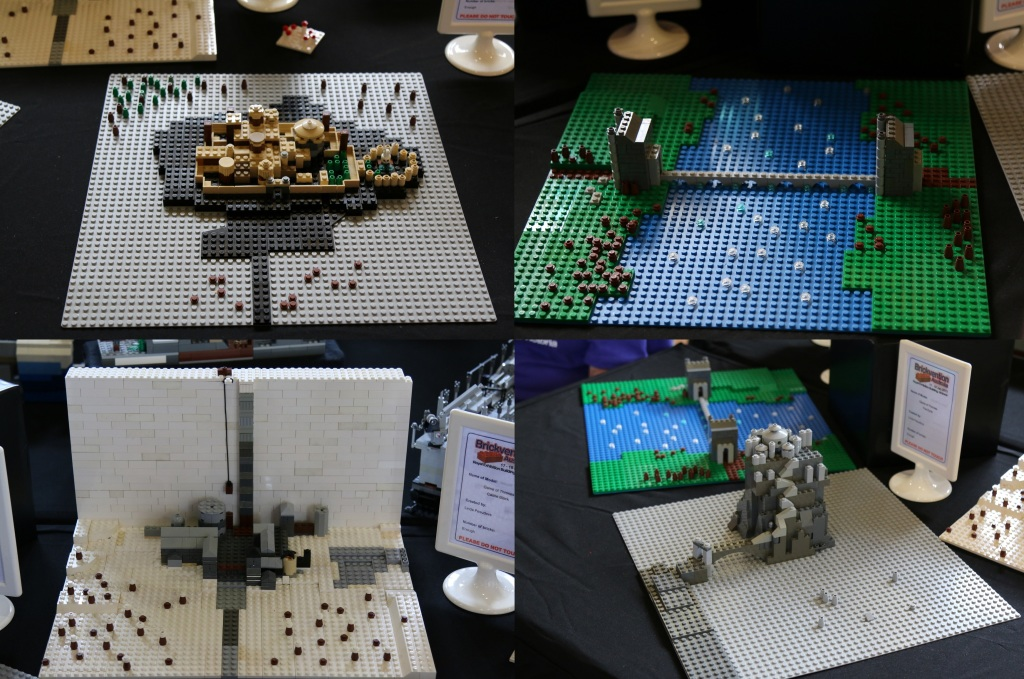 Brickvention 2015 - Micro Game of Thrones by Linda Pesudovs
