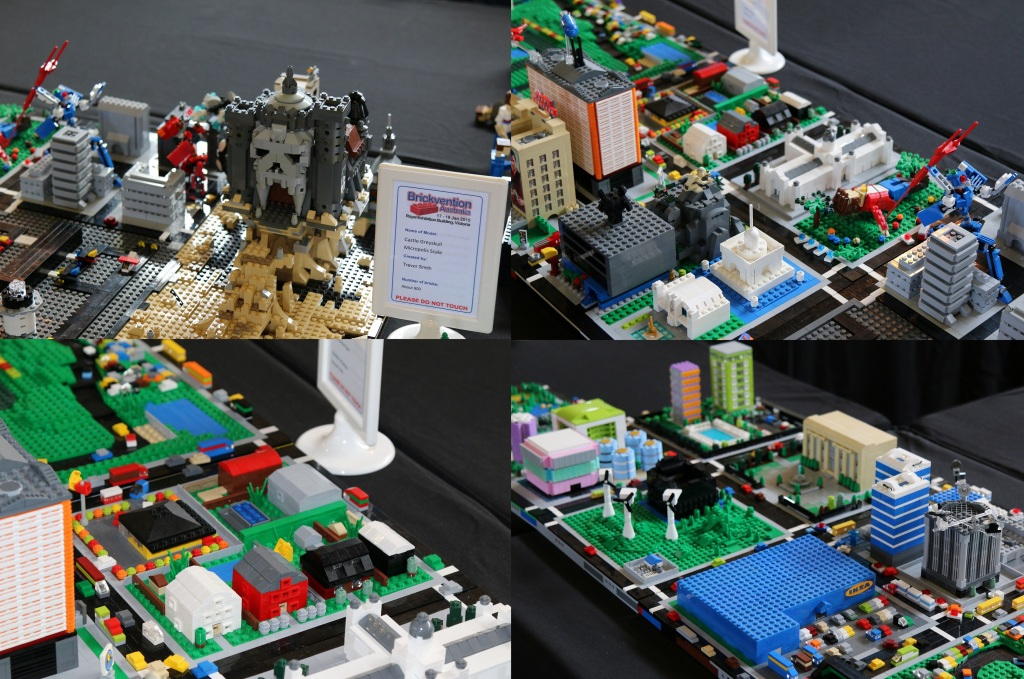 Brickvention 2015 - Micro Scale City