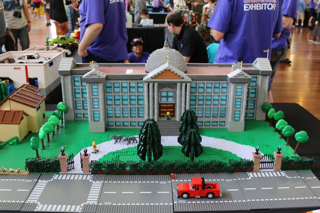 Brickvention 2015 - Mr Burns Mansion