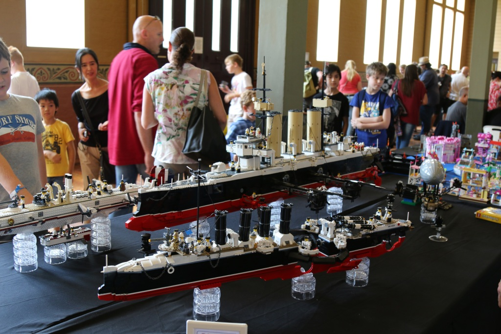 Brickvention 2015 - Queen Victoria's Secret Flying Navy