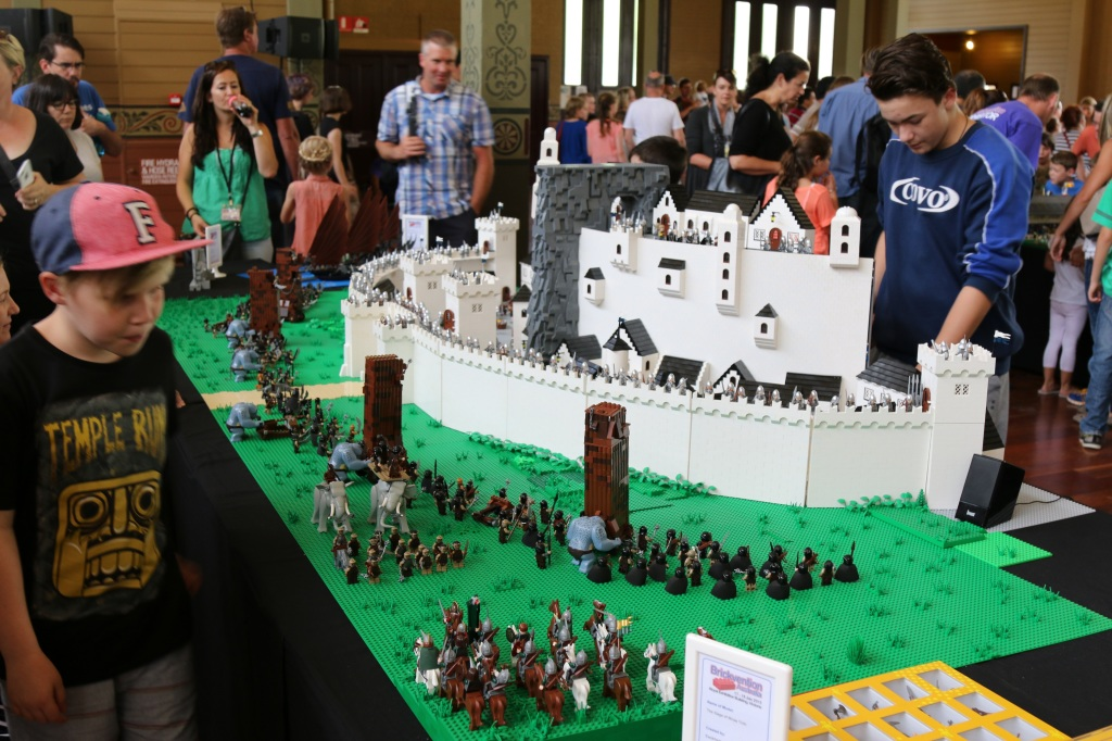 Brickvention 2015 - Siege of Minas Tirith