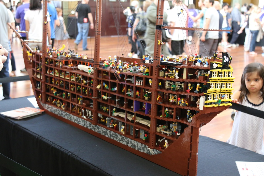 Brickvention 2015 - The Brickman's Bounty Interior