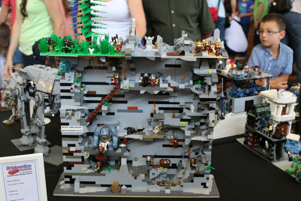 Brickvention 2015 - The Hunger For More by Rick James Bricks