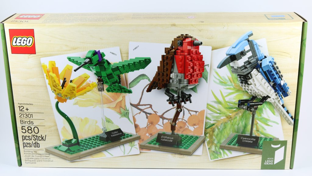 LEGO 21301 Birds - Box Art