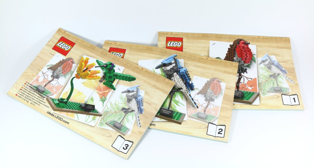 LEGO 21301 Birds - Instruction Manuals