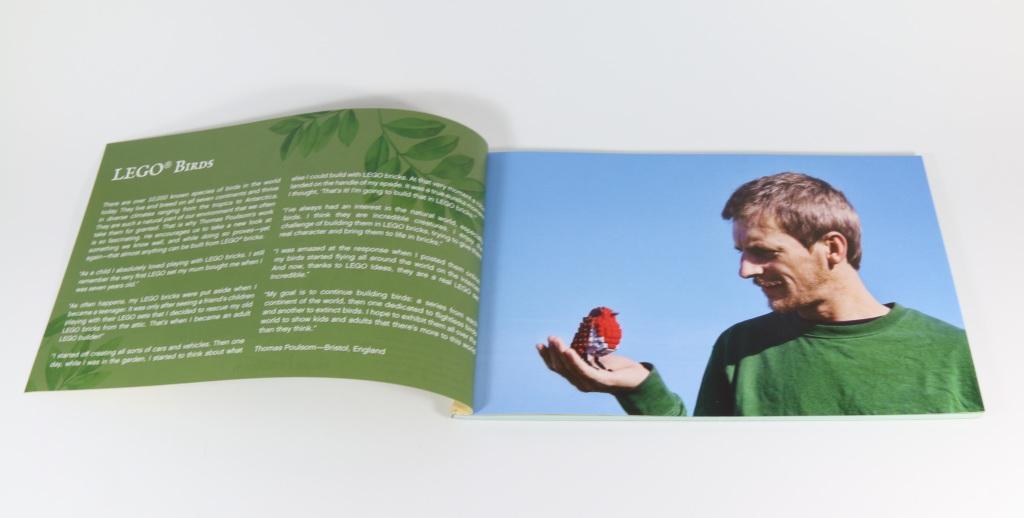 LEGO 21301 Birds - Thomas Poulsom