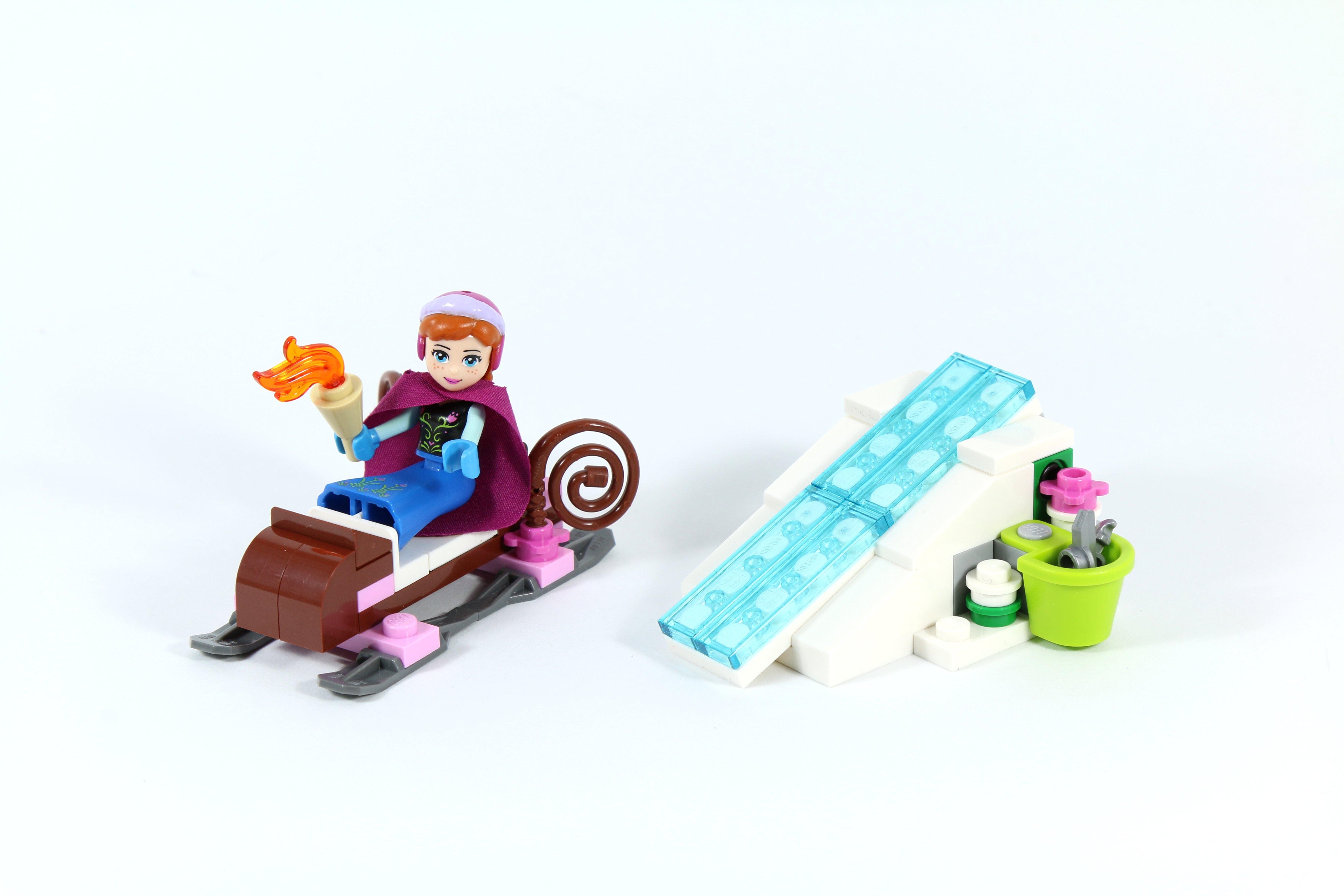 LEGO 41062 Elsa's Sparkling Ice Castle - Anna and Sleigh