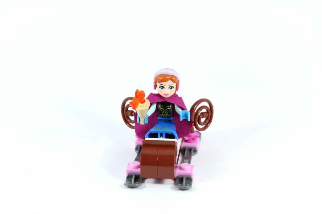LEGO 41062 Elsa's Sparkling Ice Castle - Anna in Sleigh