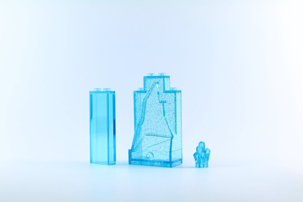 LEGO 41062 Elsa's Sparkling Ice Castle Sparkly Parts