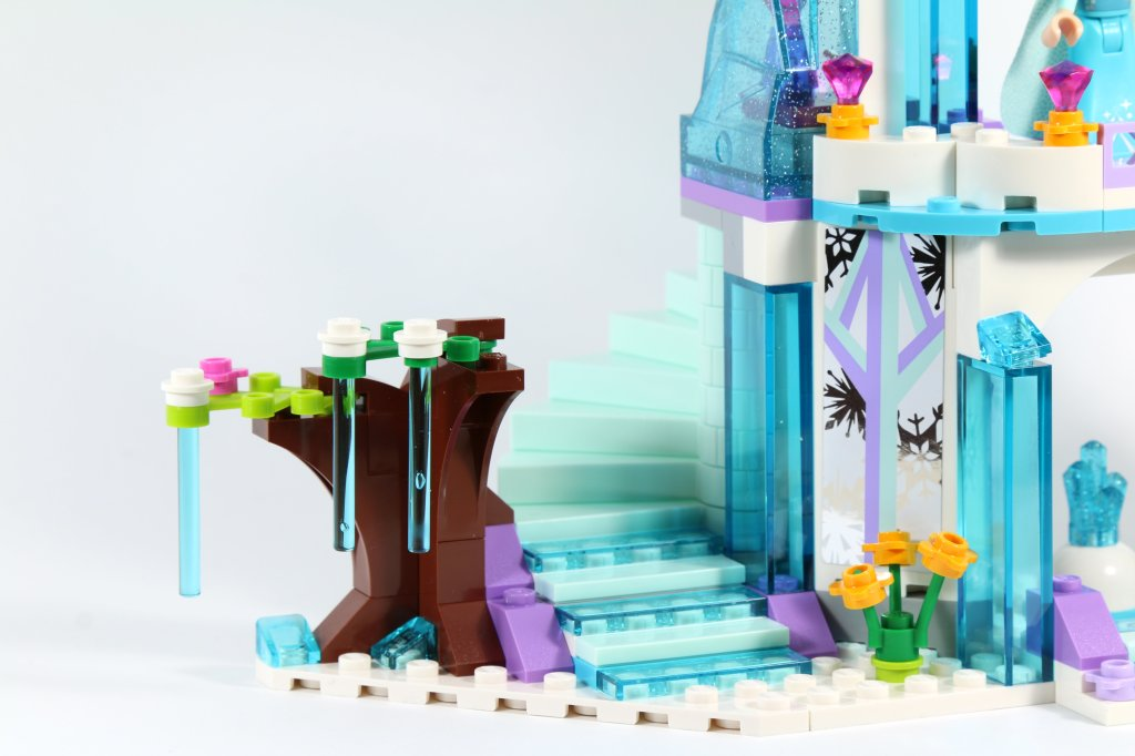 LEGO 41062 Elsa's Sparkling Ice Castle - Tree and Stairs