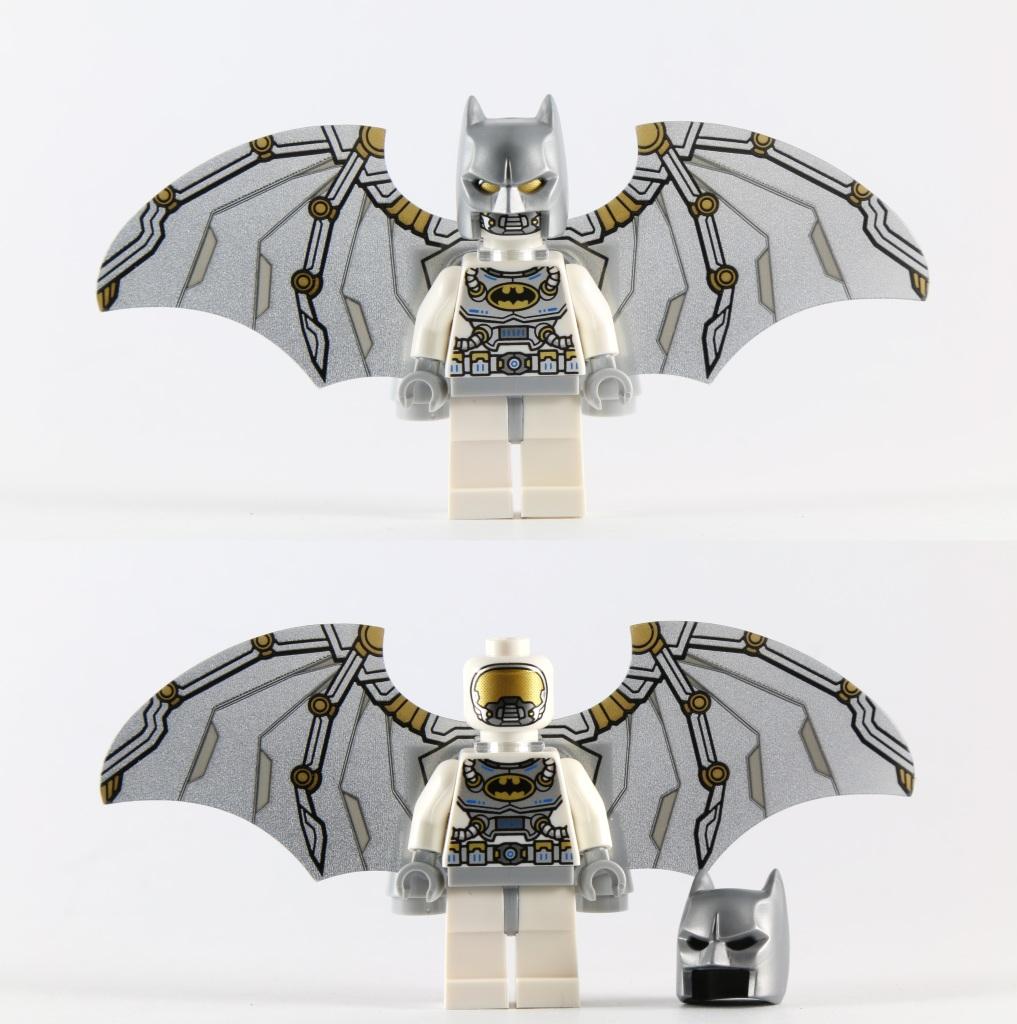 LEGO 76025 Green Lantern vs Sinestro - Batman Minifig with Wings