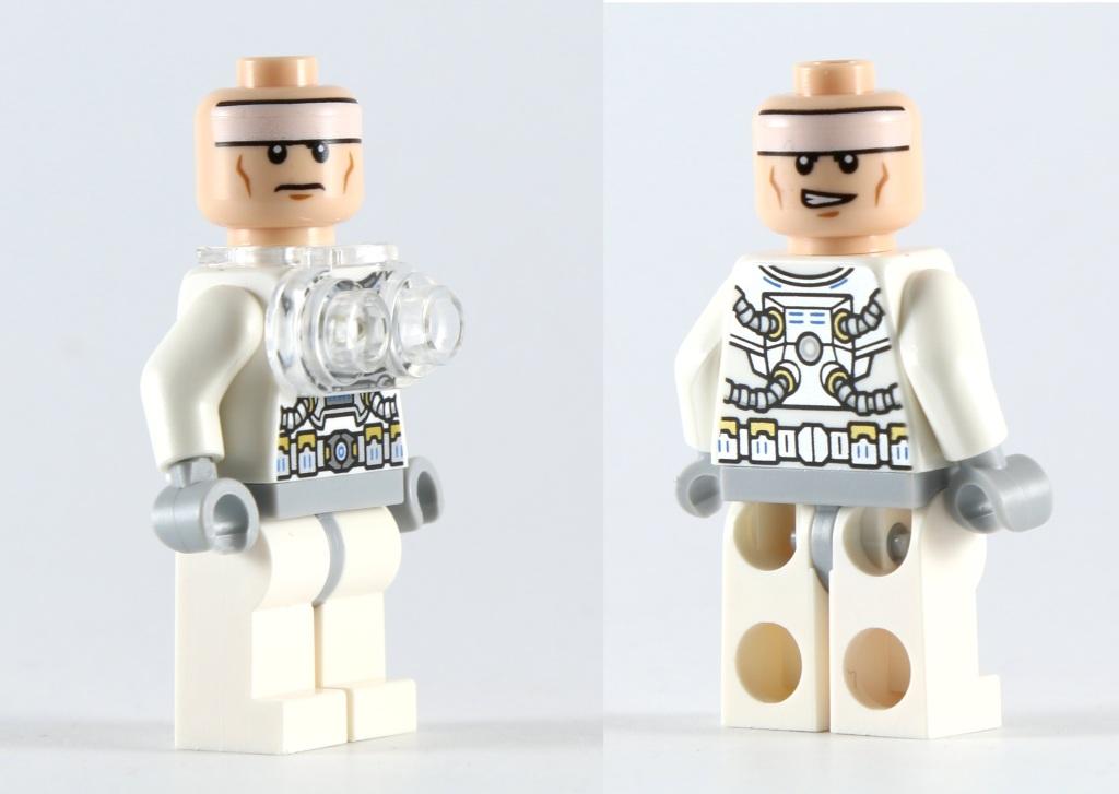 LEGO 76025 Green Lantern vs Sinestro - Batman Normal Head