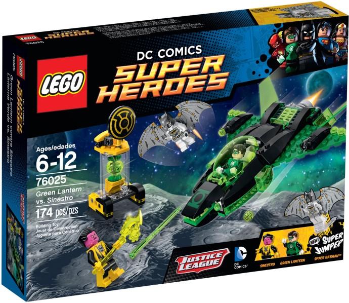 LEGO 76025 Green Lantern vs Sinestro Box Art