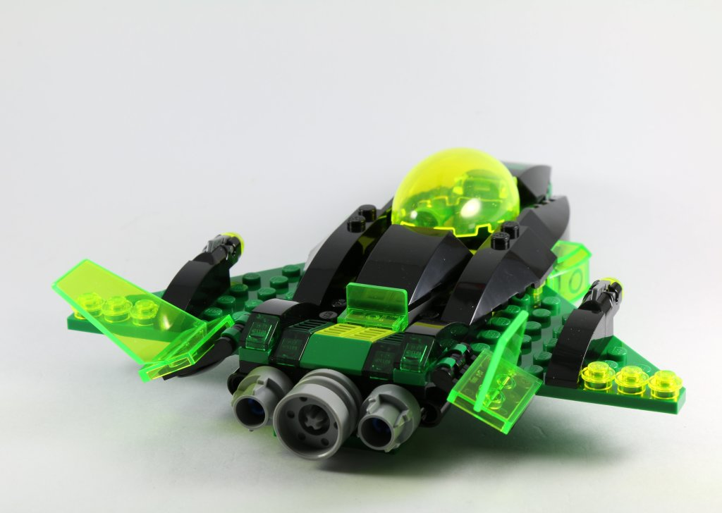 LEGO 76025 Green Lantern vs Sinestro - Green Lantern Jet Back