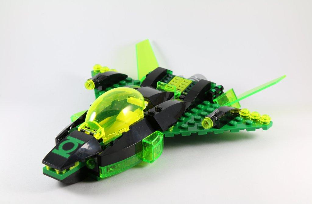 LEGO 76025 Green Lantern vs Sinestro - Green Lantern Jet Spaceship