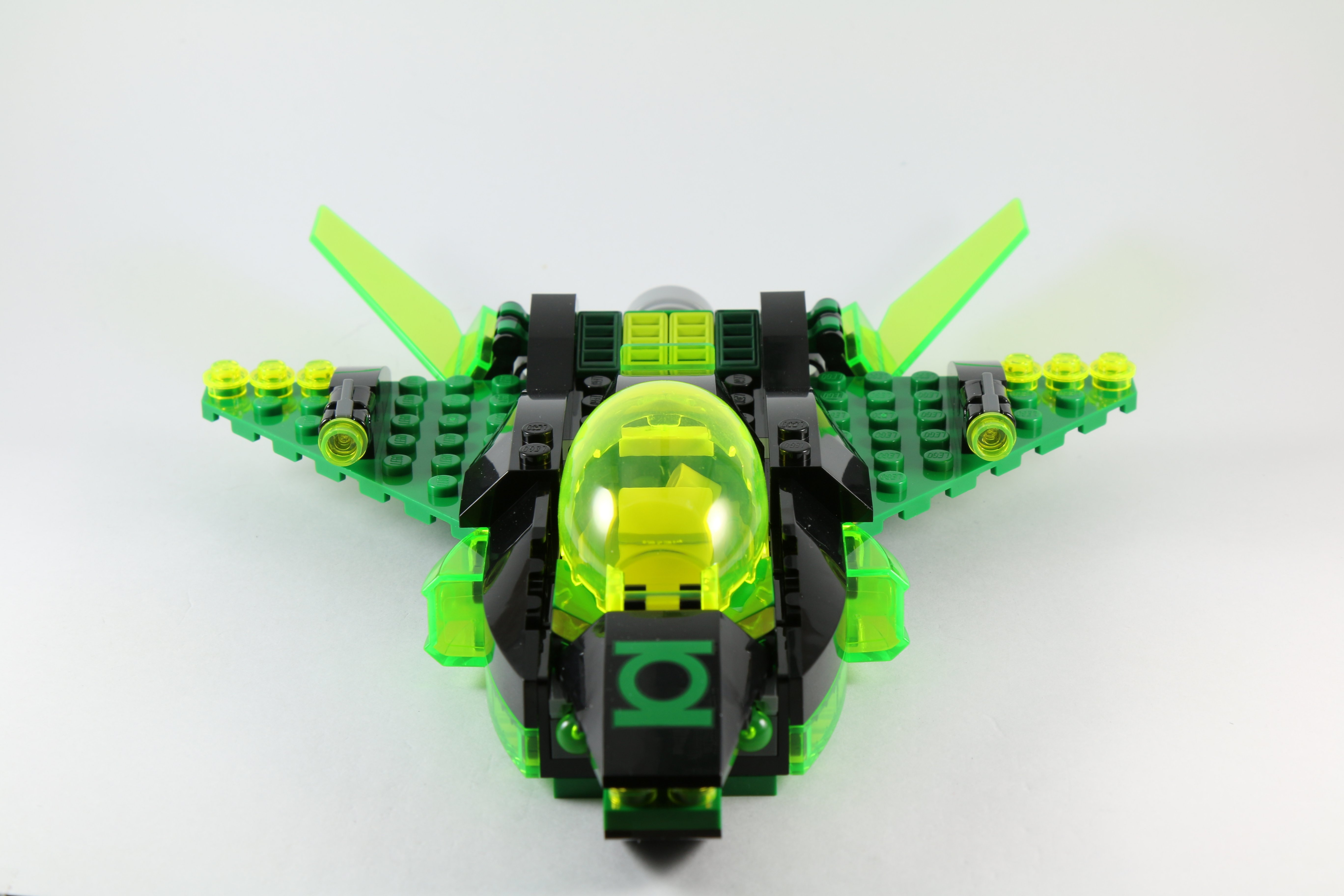 LEGO 76025 Green Lantern vs Sinestro - Green Lantern JetJet Life Logo In Green