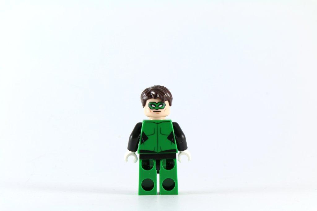 LEGO 76025 Green Lantern vs Sinestro - Green Lantern Minifigure Back