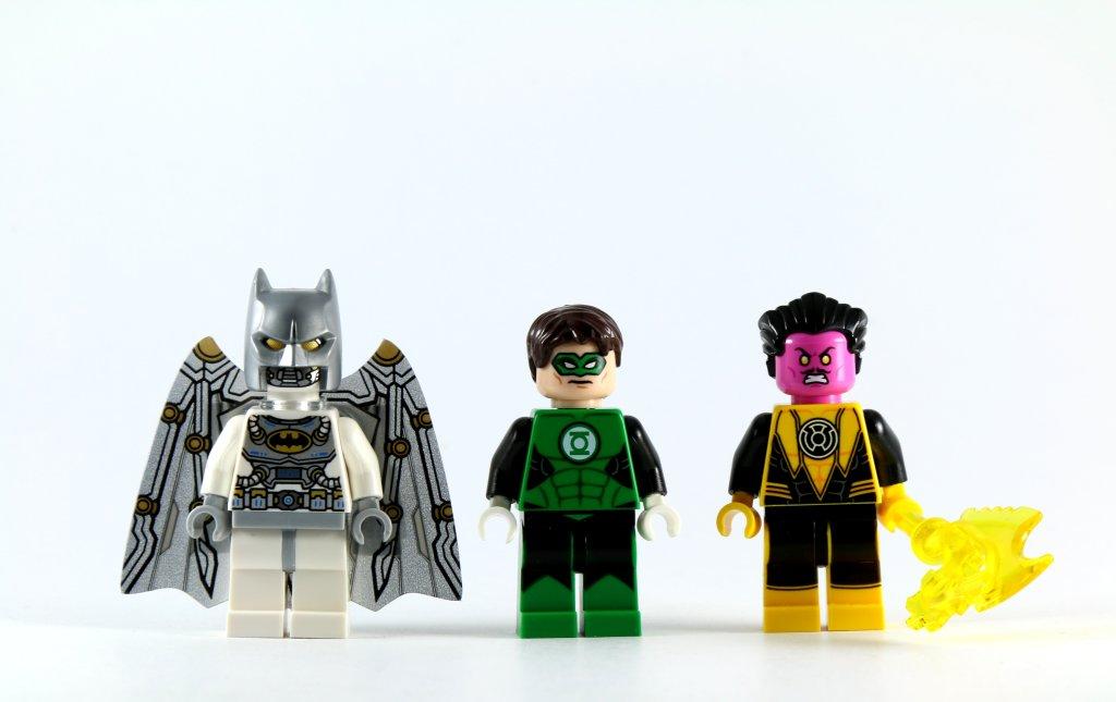 LEGO 76025 Green Lantern vs Sinestro Minifigures