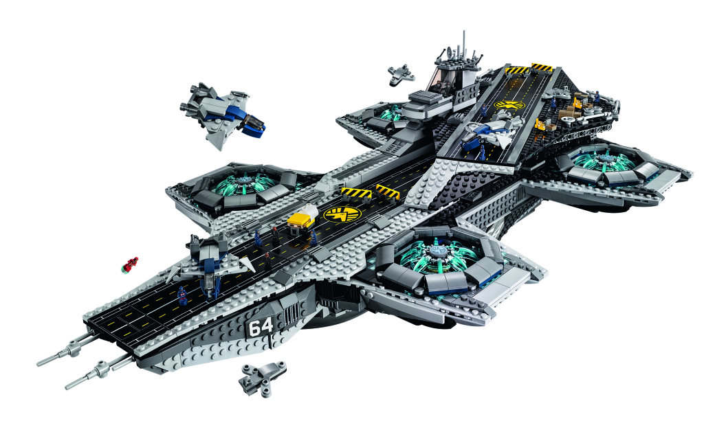It's official – We're getting a LEGO UCS S.H.I.E.L.D. Helicarrier