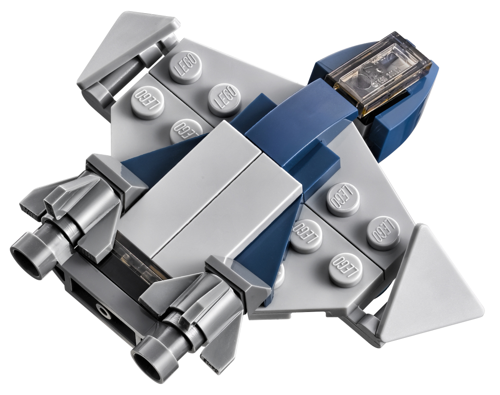 LEGO 76042 SHIELD Helicarrier - Micro Quinjet