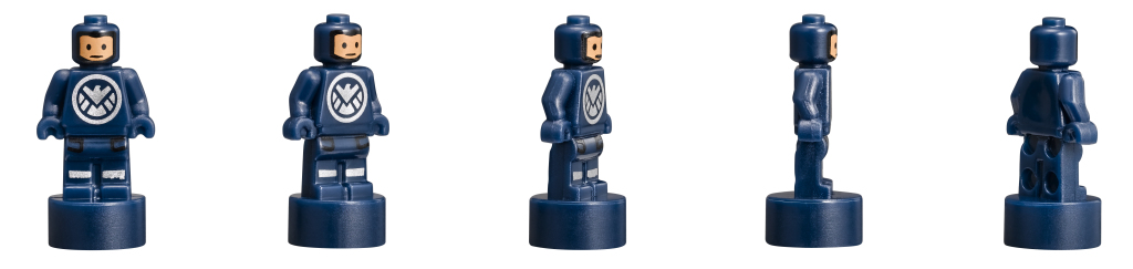LEGO 76042 SHIELD Helicarrier - SHIELD Agent Microfigures