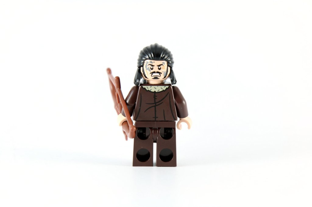 LEGO 79016 Attack on Lake-town Bard the Bowman Back