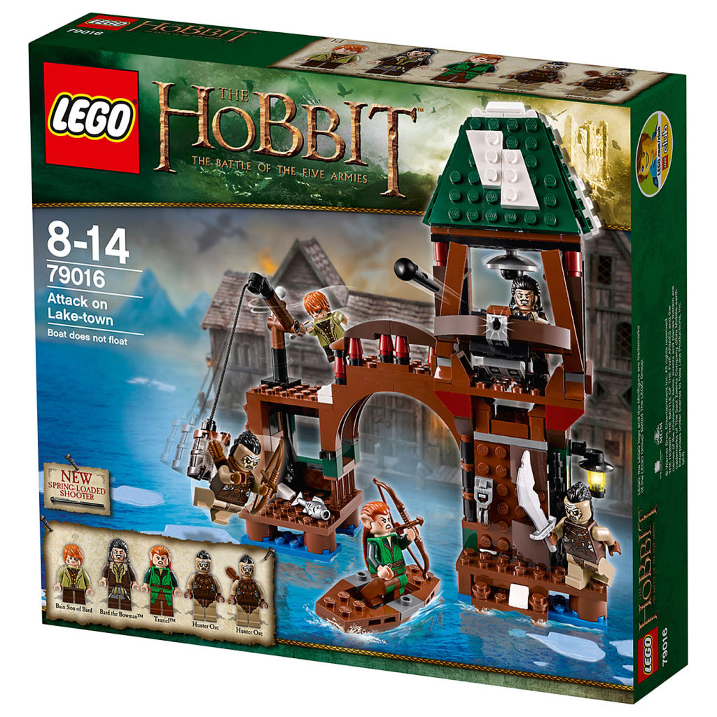 LEGO 79016 Attack on Lake-town Box