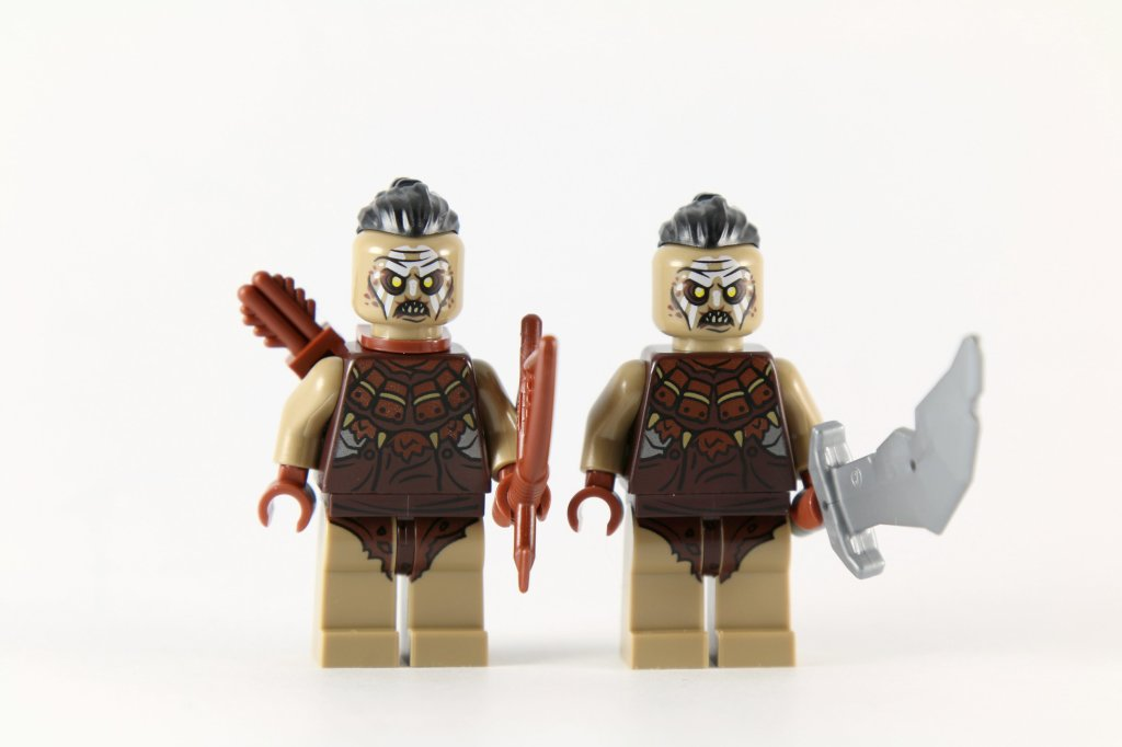 LEGO 79016 Attack on Lake-town Hunter Orc Minifigures