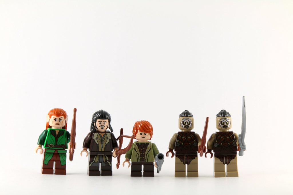 LEGO 79016 Attack on Lake-town Minifigures