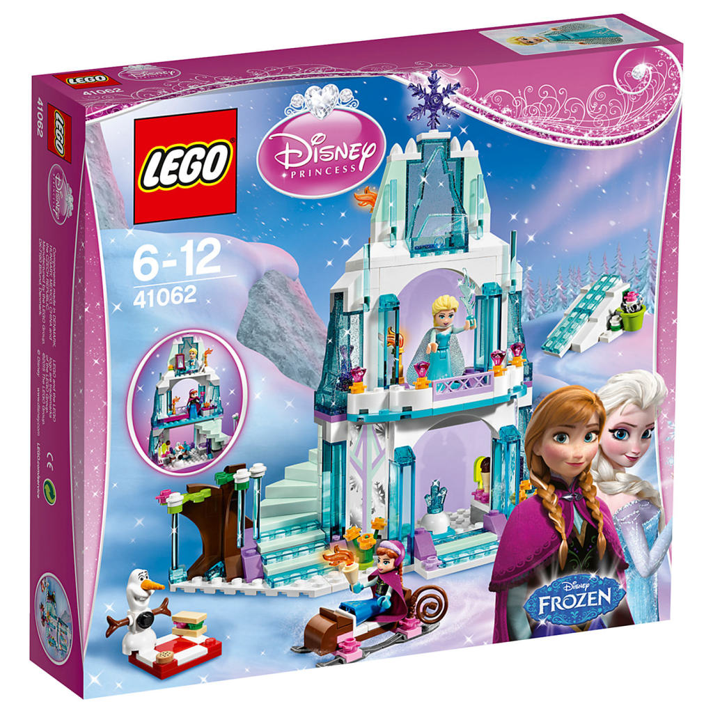 LEGO Frozen 41062 Elsa's Sparkling Ice Castle Box