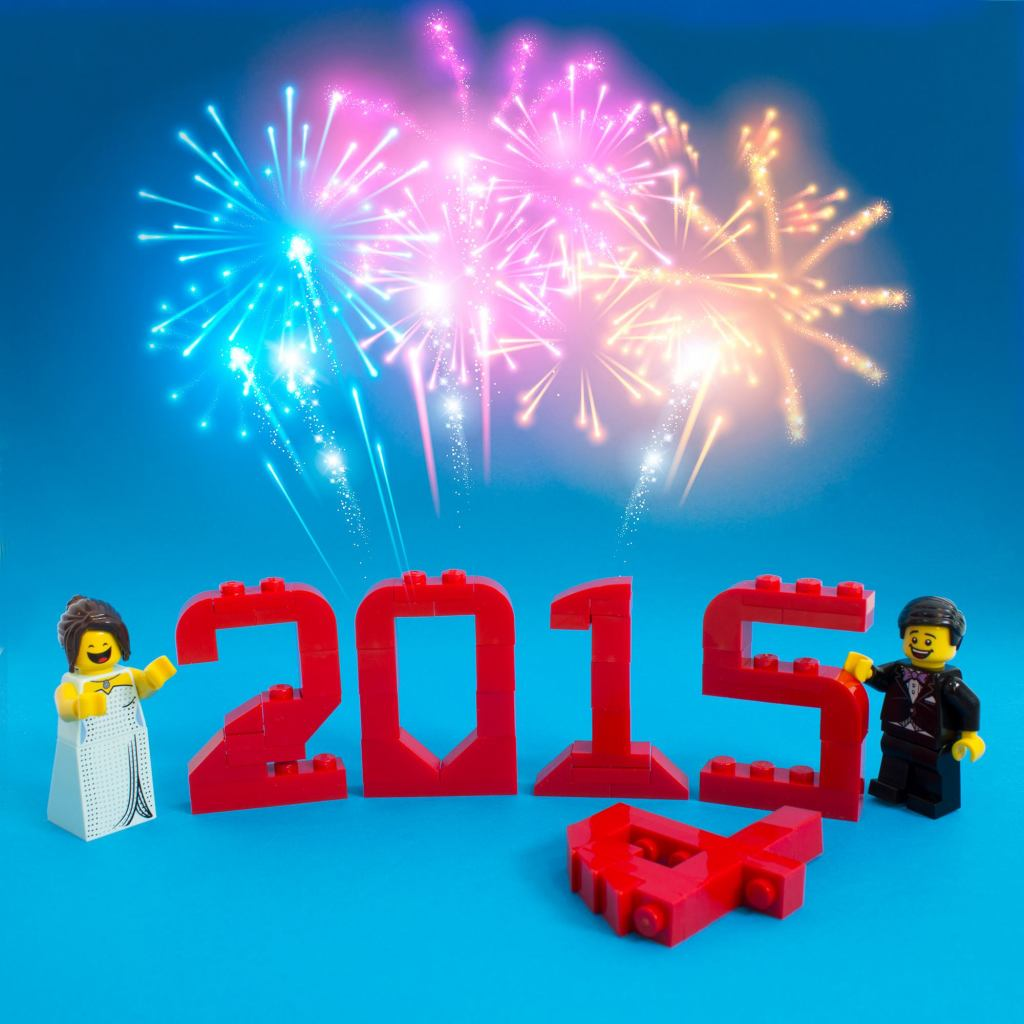 LEGO Happy New Year 2015