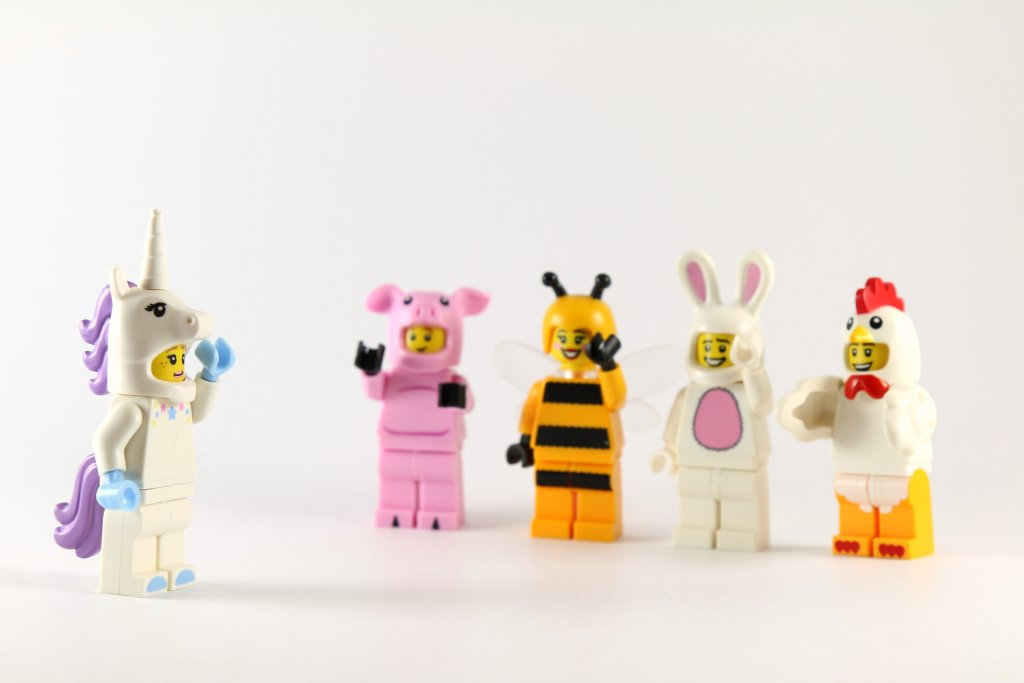 LEGO Minifigures Animal Costumes