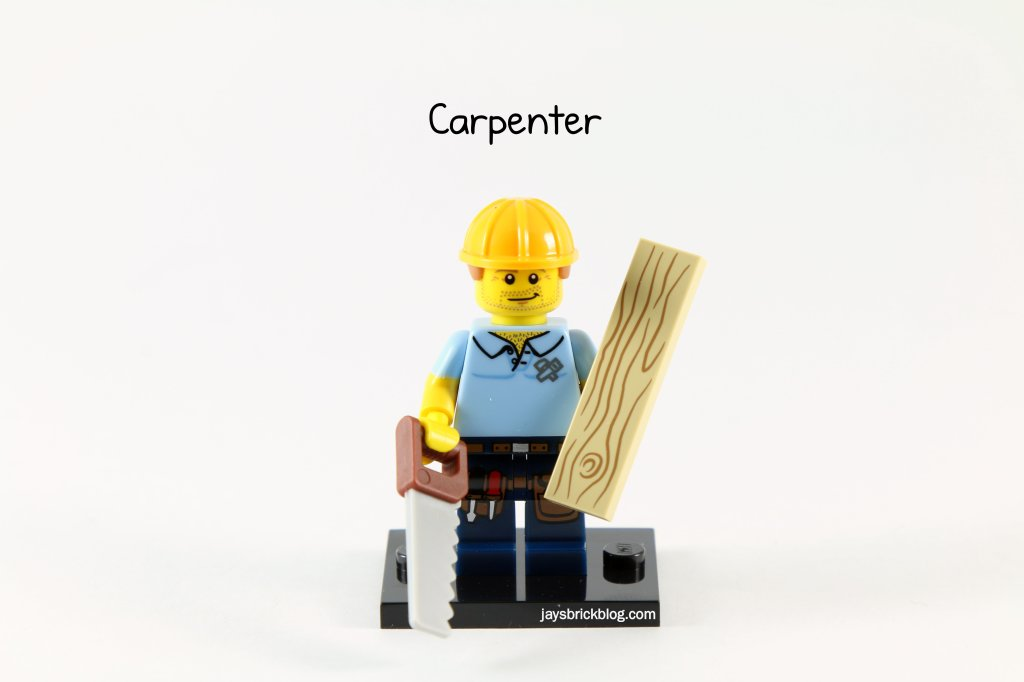 LEGO Minifigures Series 13 - Carpenter (2)
