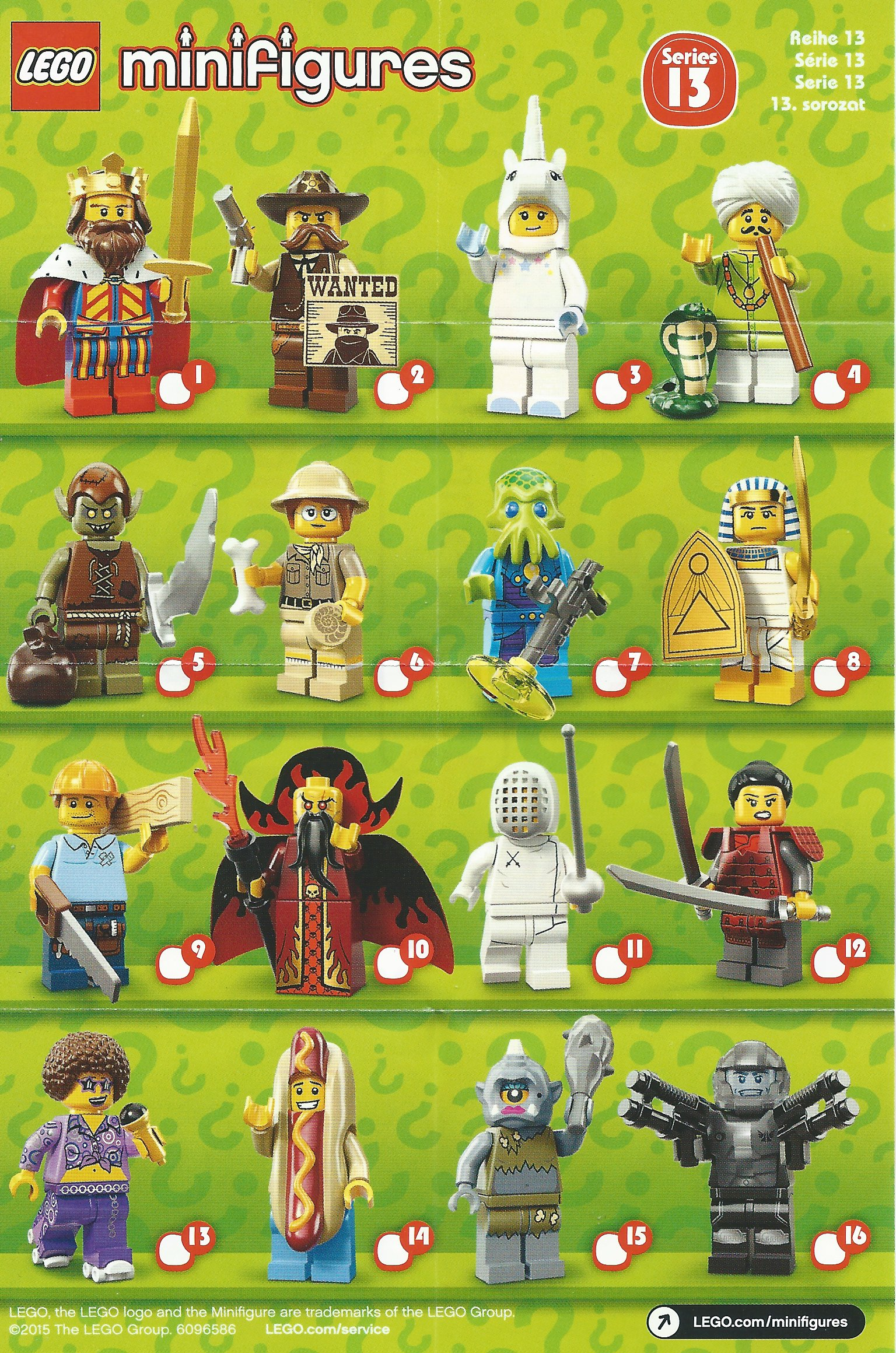 Lego Collectable Minifigure Series 13 Sheriff