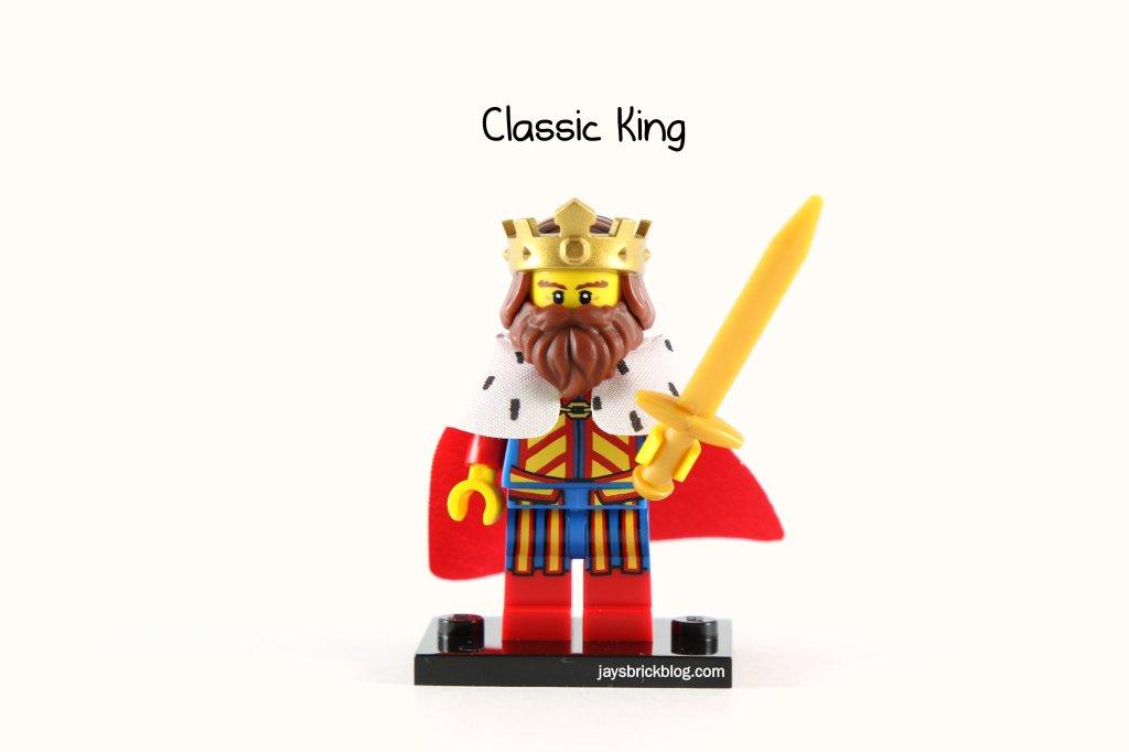 Collectible Minifigure Classic King /& Queen Minifig // Mini Figure LEGO