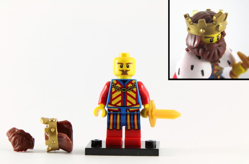 LEGO Minifigures Series 13 - Classic King Torso